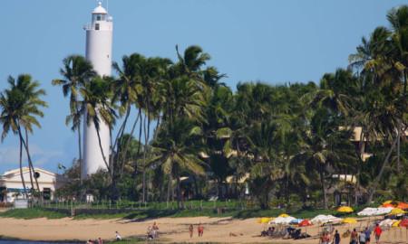 Praia do Forte no caminho do WSL South America