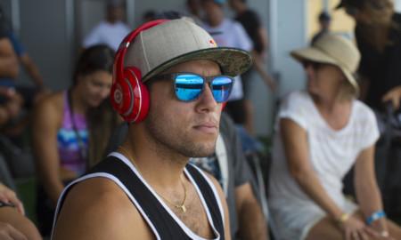 Mineirinho nas quartas de final, em Gold Coast