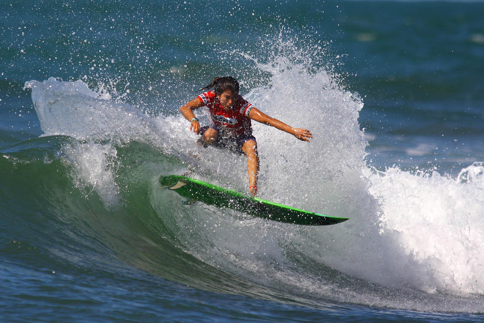 Silvana Lima (CE) na Praia do Forte / Foto Daniel Smorigo