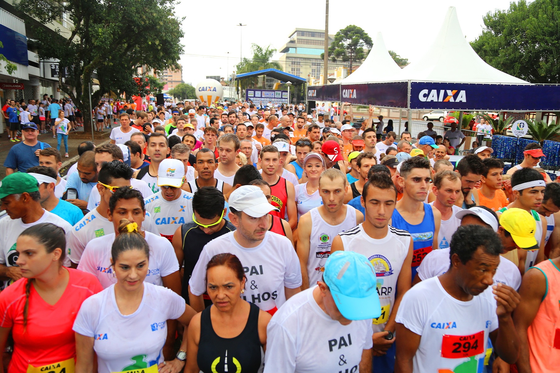 Foram 900 participantes nas ruas da cidade do Oeste Catarinense / Foto Junior Duarte