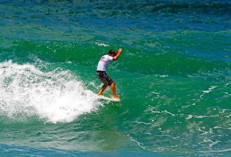 Leco no Marands Brasileiro de Surf Master e Longboard / Foto Lucas Lopes