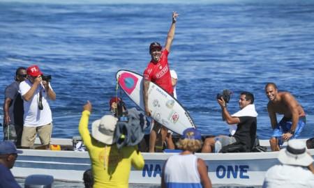Medina vence Wilkinson em Fiji