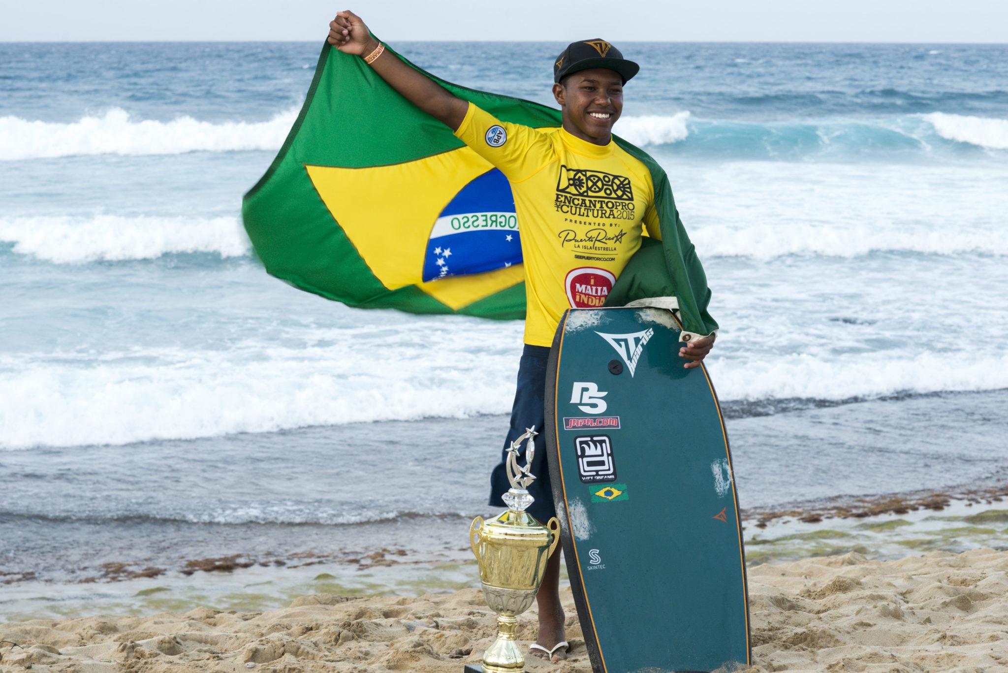 Atual campeão mundial, Sócrates Santana, destaques da etapa / Foto Alex Diaz/APB