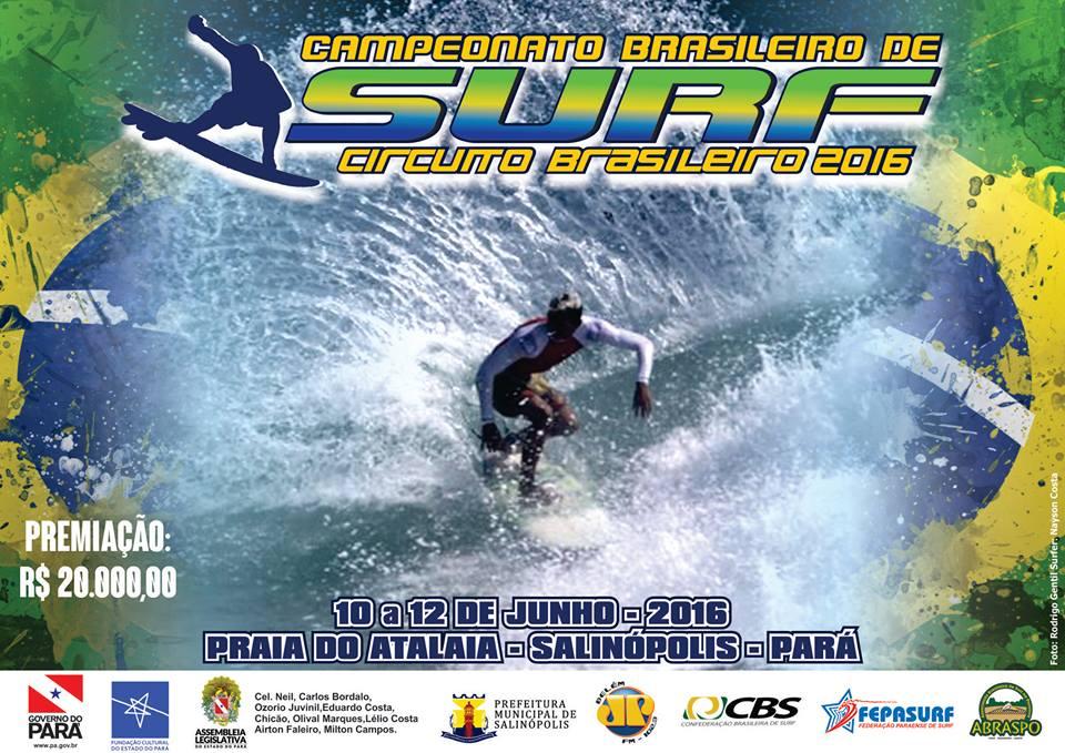 CARTAZ 2ª ETAPA CIRCUITO CBSURF 2016