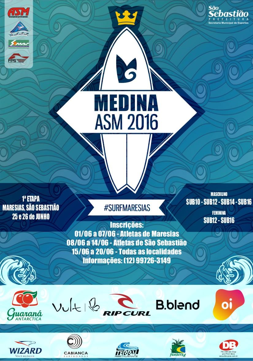 cartaz circuito medina asm 2016