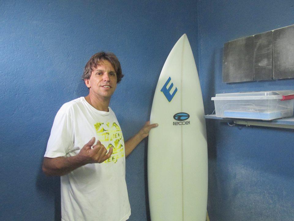 Shaper Eder Oliveira / Foto Divulgação