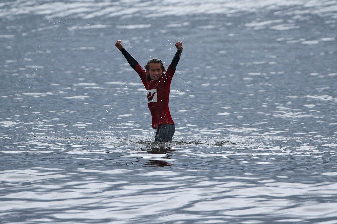 Ryan Kainalo vence a Estreante do Hang Loose Surf Attack, etapa Santos / Foto Munir El Hage
