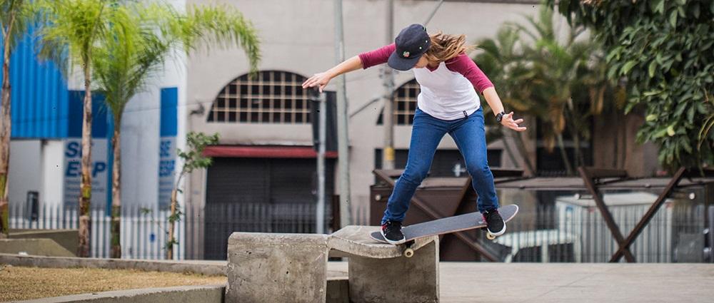 Monica Torres pronta para estrear na Street League Skateboarding  (Divulgação | Vibe)