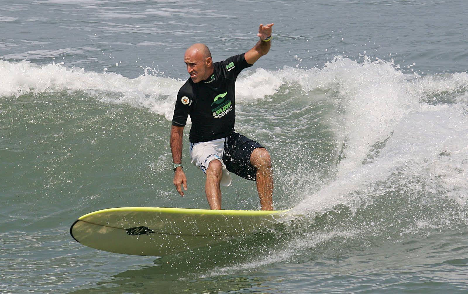 Ele foi o primeiro campeão nacional português de um circuito profissional  de surf / Foto Ilustrativa-Divulgação