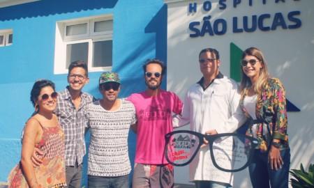 Vilhena participa de ação social em Noronha