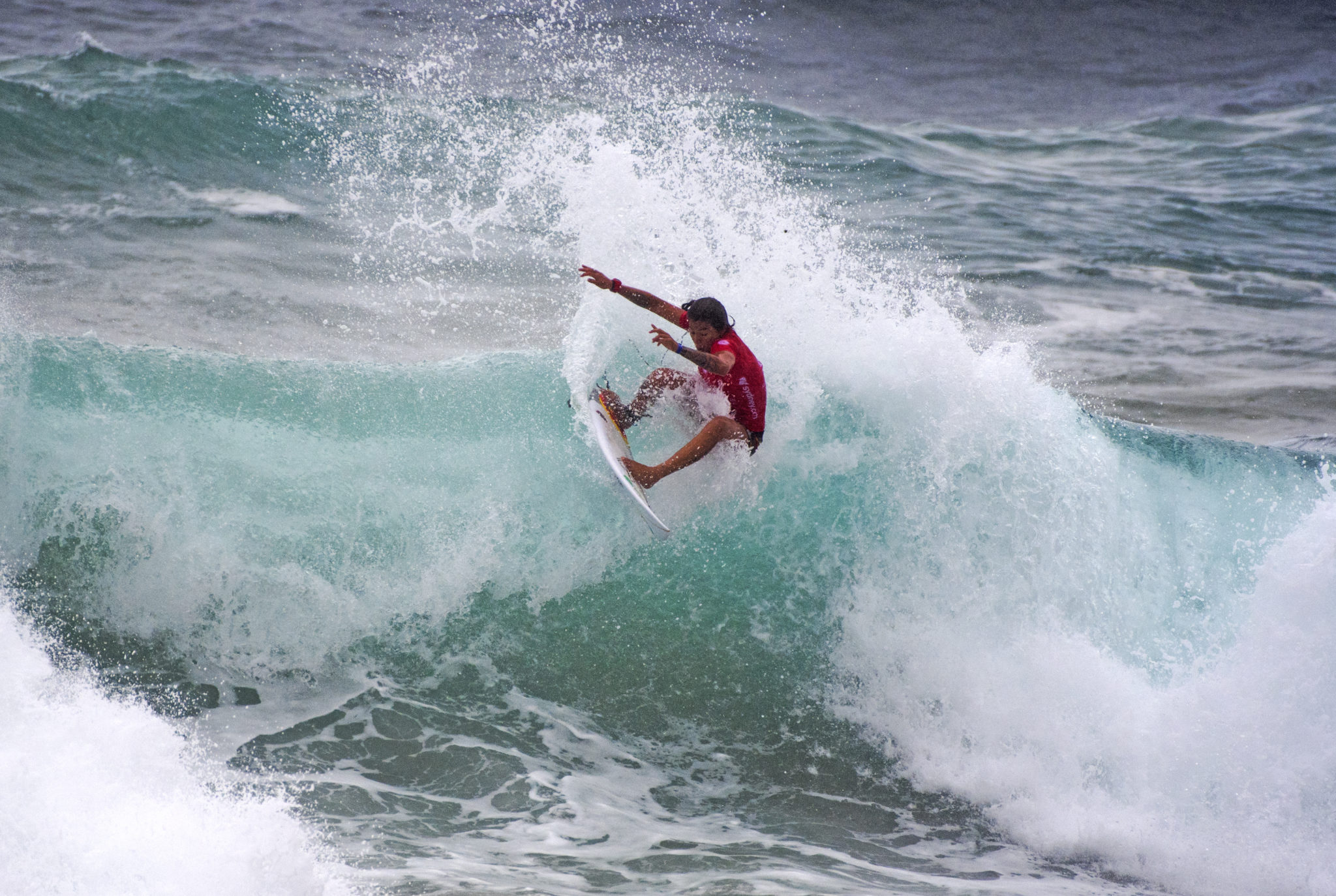 Silvana Lima was eliminated in Round five 2017 girls Make Your Move Women's Pro