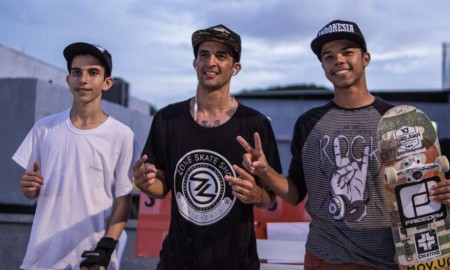 Vencedores do Arena Skate Tattoo em Natal