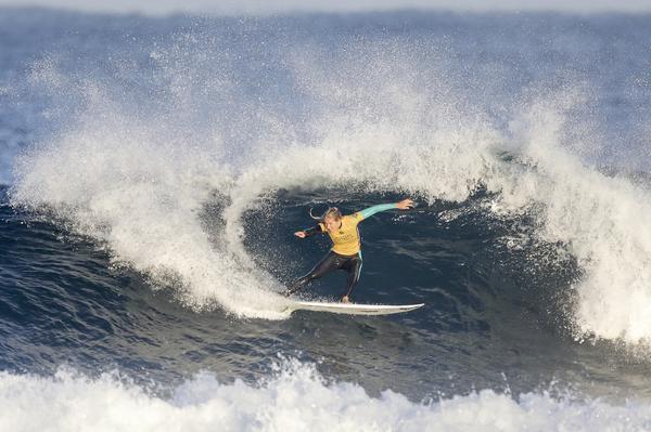Stephanie Gilmore: @WSL / Matt Dunbar