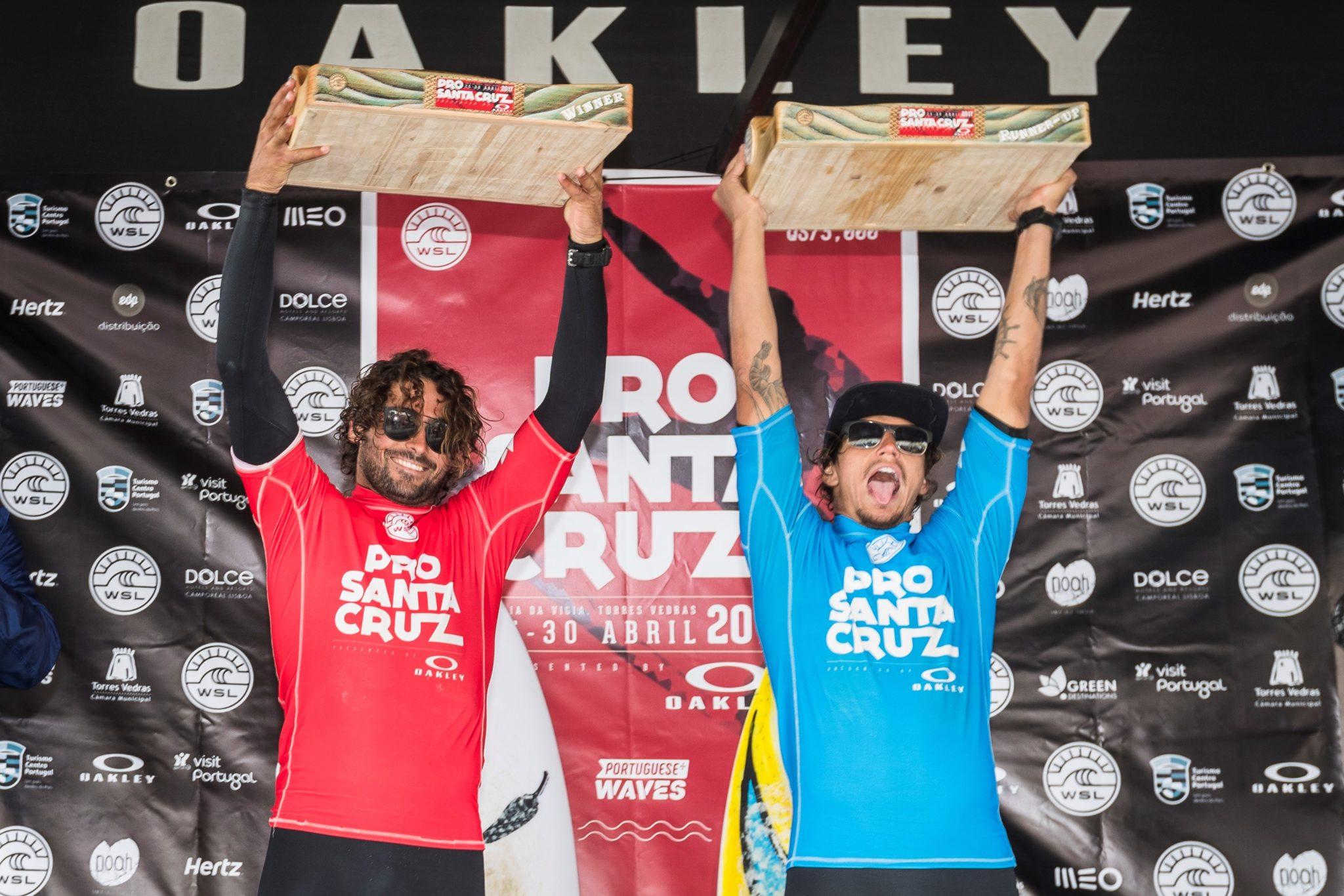 podium at Santa Cruz Pro 2017