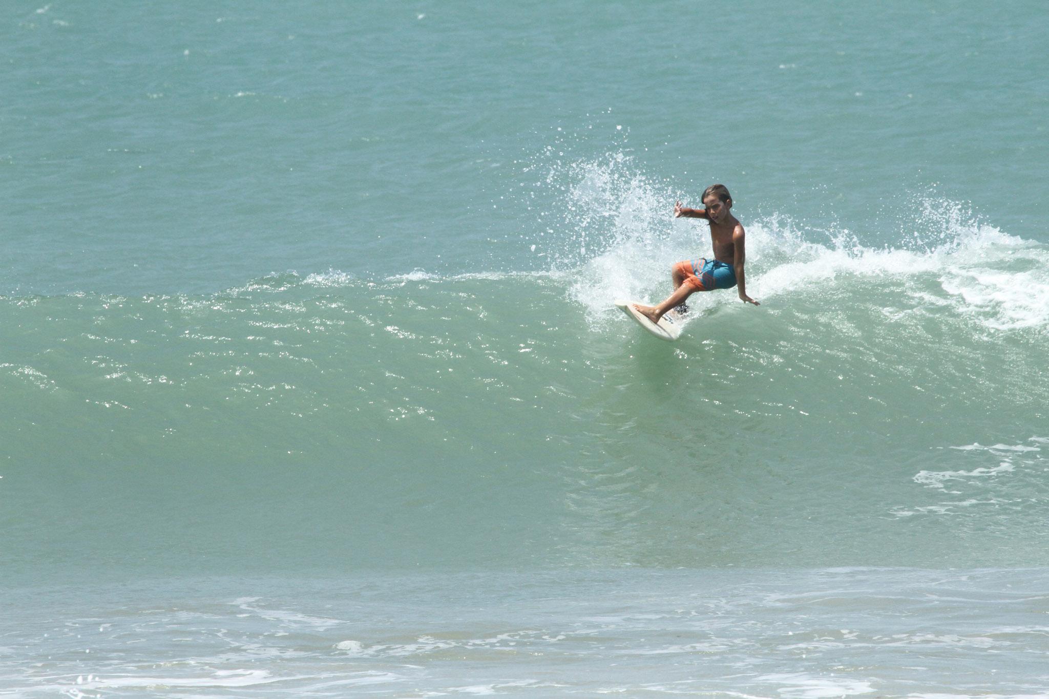 Guilherme Lemos (CE) na Sub-10 (Lima Junior / Pena)