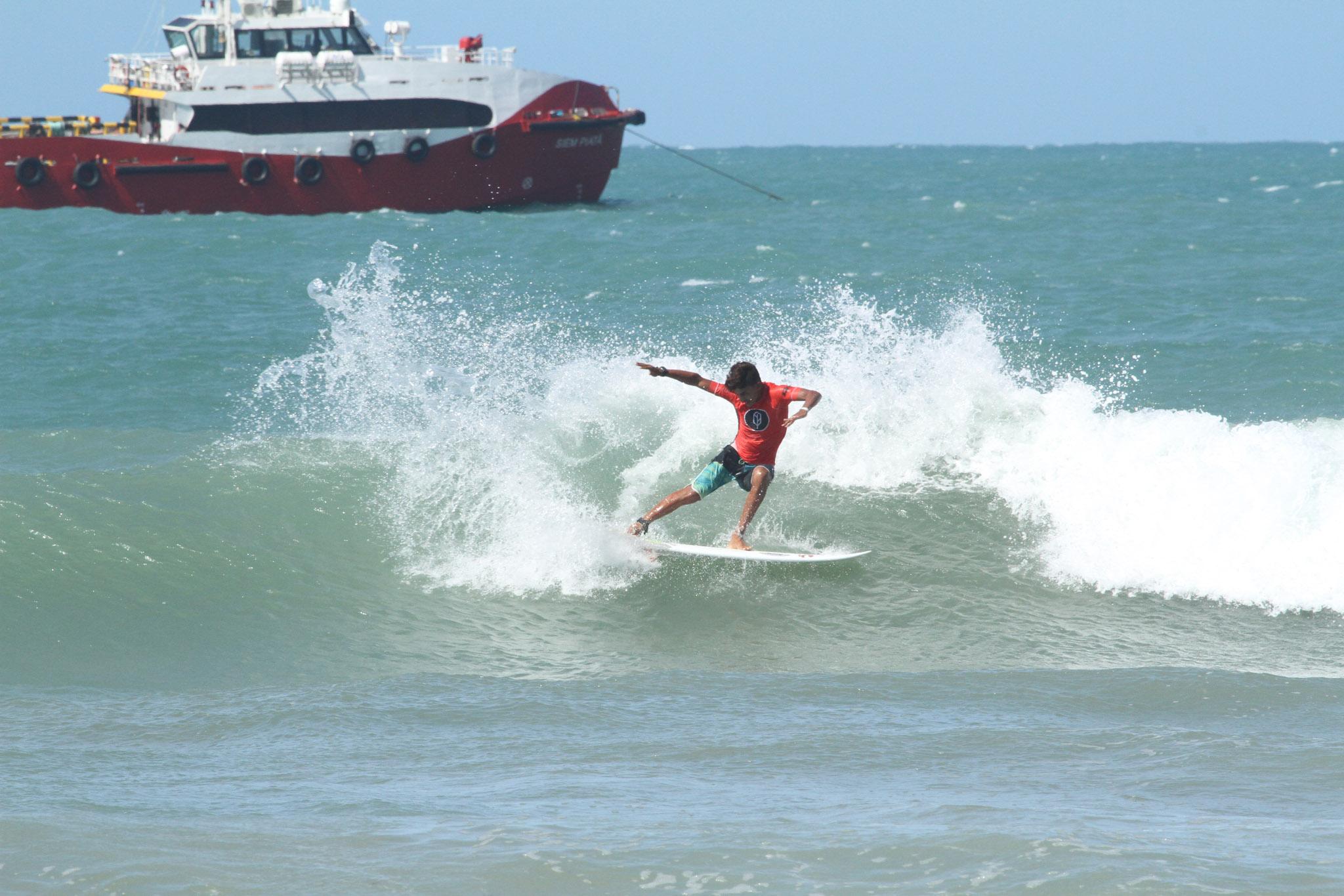 Mathias Ramos (CE) campeão Pro Junior no Ceará (Lima Junior / Pena)