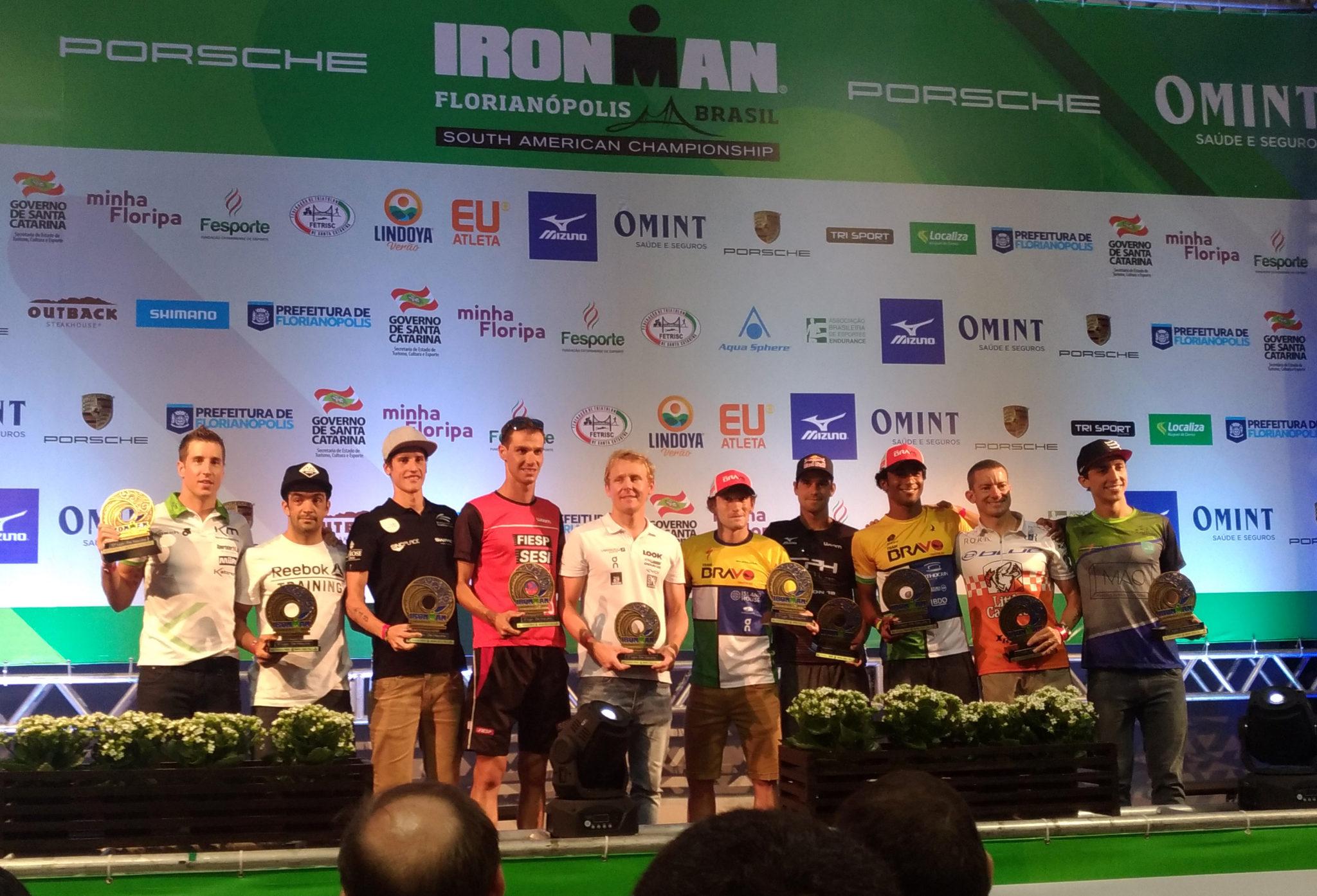 Reinaldo Colucci atinge é top 5 do Ironman Florianópolis