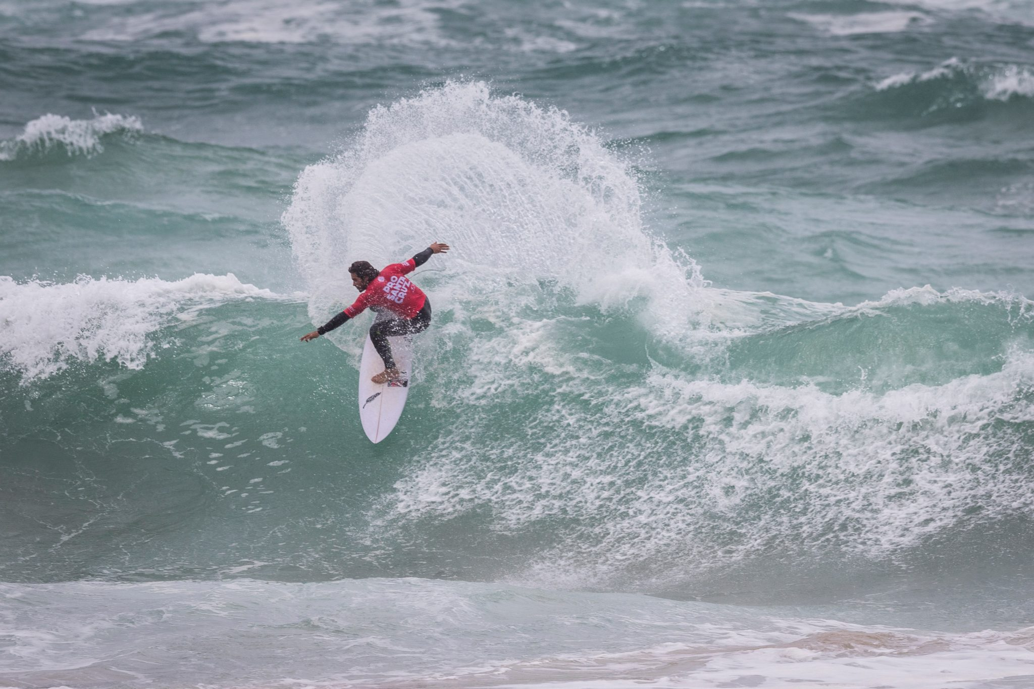 Marco Giorgi (URY) placed 1st in the final at Santa Cruz Pro 2017