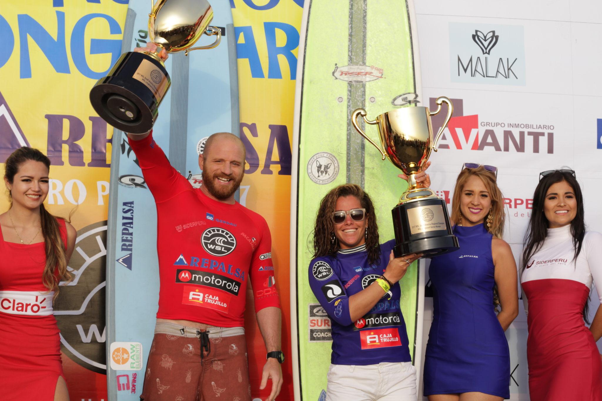 Campeões sul-americanos (Renato Moreno / Olas Norte)