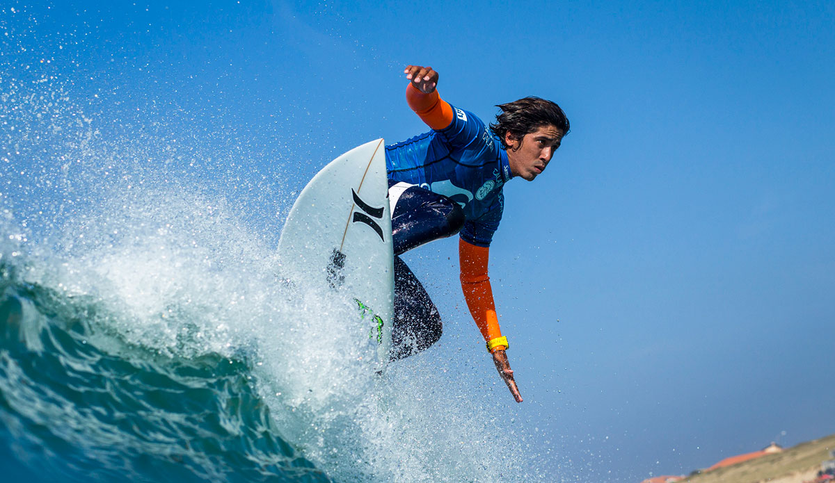 O surfista brasileiro Miguel Pupo (Foto: ASP/P0ullenot)