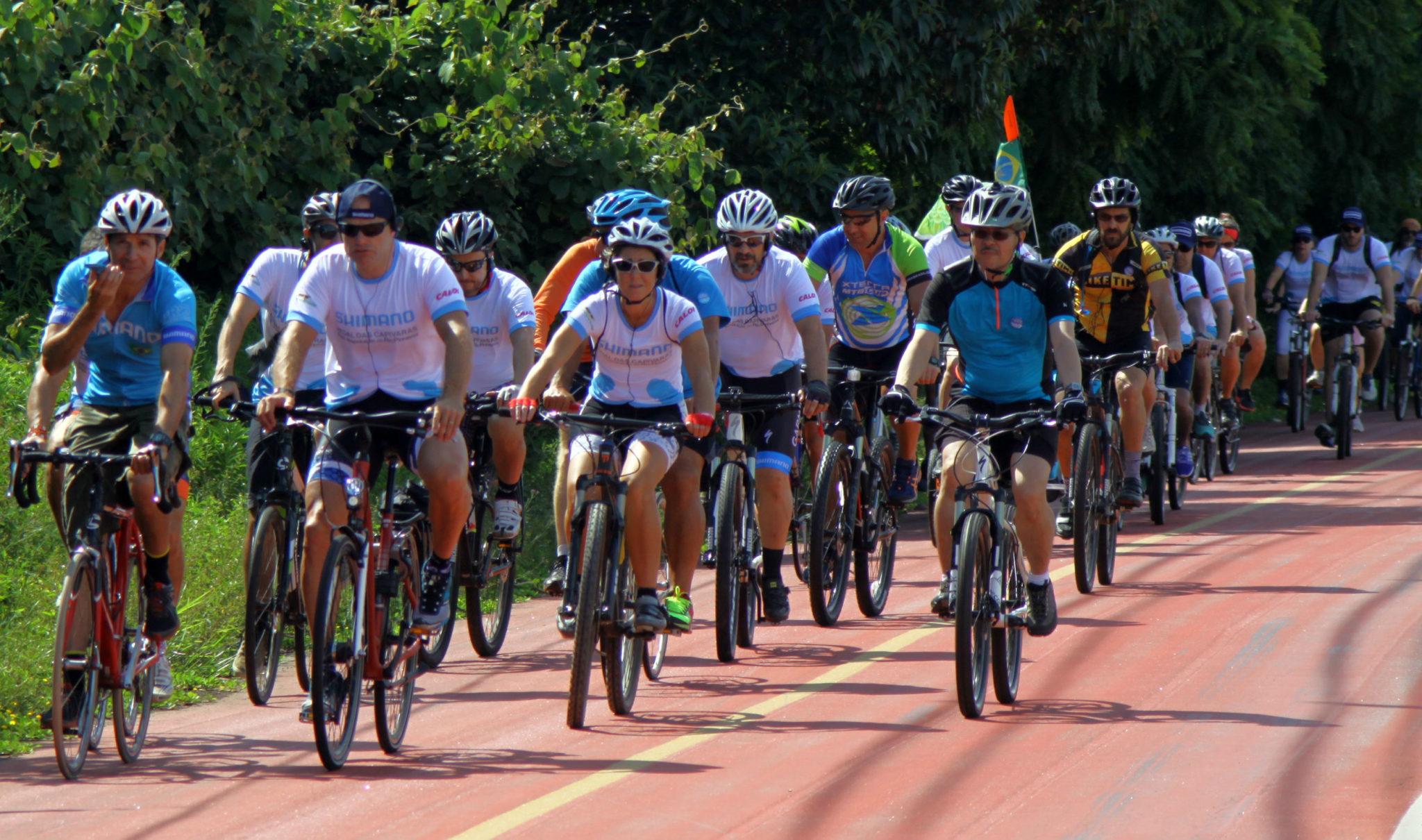 Quinta edição do Pedal das Capivaras, em 2015 (JB Carvalho / Shimano)