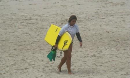 Gina Fellix sofre punição duvidosa no Paulista de Bodyboard