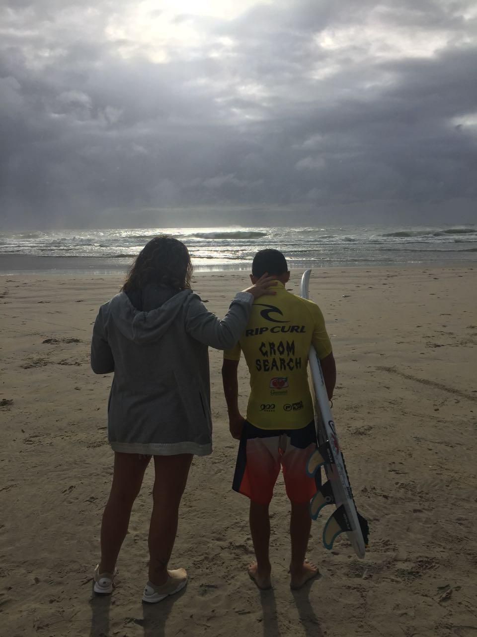 Simone Medina com Caio Costa / Foto Caco Reis
