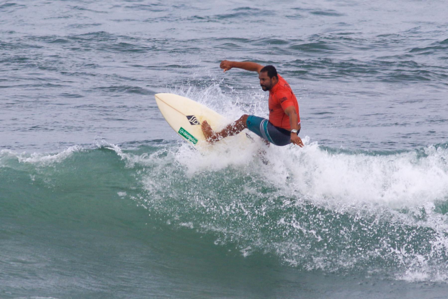 Jojó de Olivença é um dos convidados para o eventoFico Surf Festival / Foto Silvia Winik