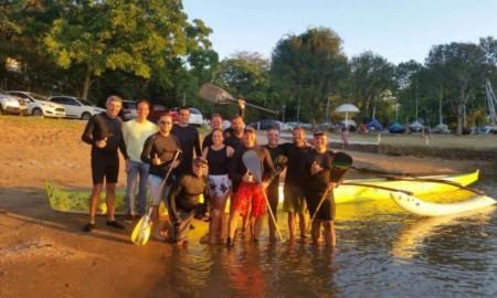 Equipe gaúcha estreia na 15ª Volta à Ilha de Santo Amaro