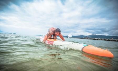 Paddleboard é das atrações do Aloha Spirit Festival