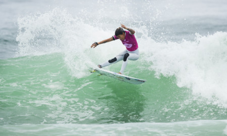 Silvana Lima nas quartas de final do Oi Rio Pro