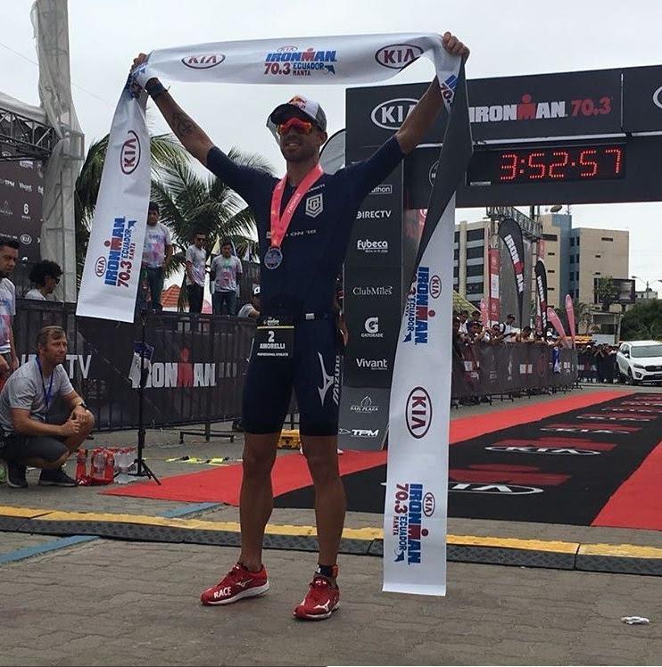 Foto: Ironman 70.3 Ecuador/Divulgação