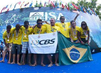Equipe Brasileira de 2014, nos Jogos da ISA fonte: internet