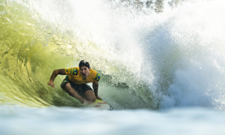 Gabriel Medina dá show no Surf Ranch Pro