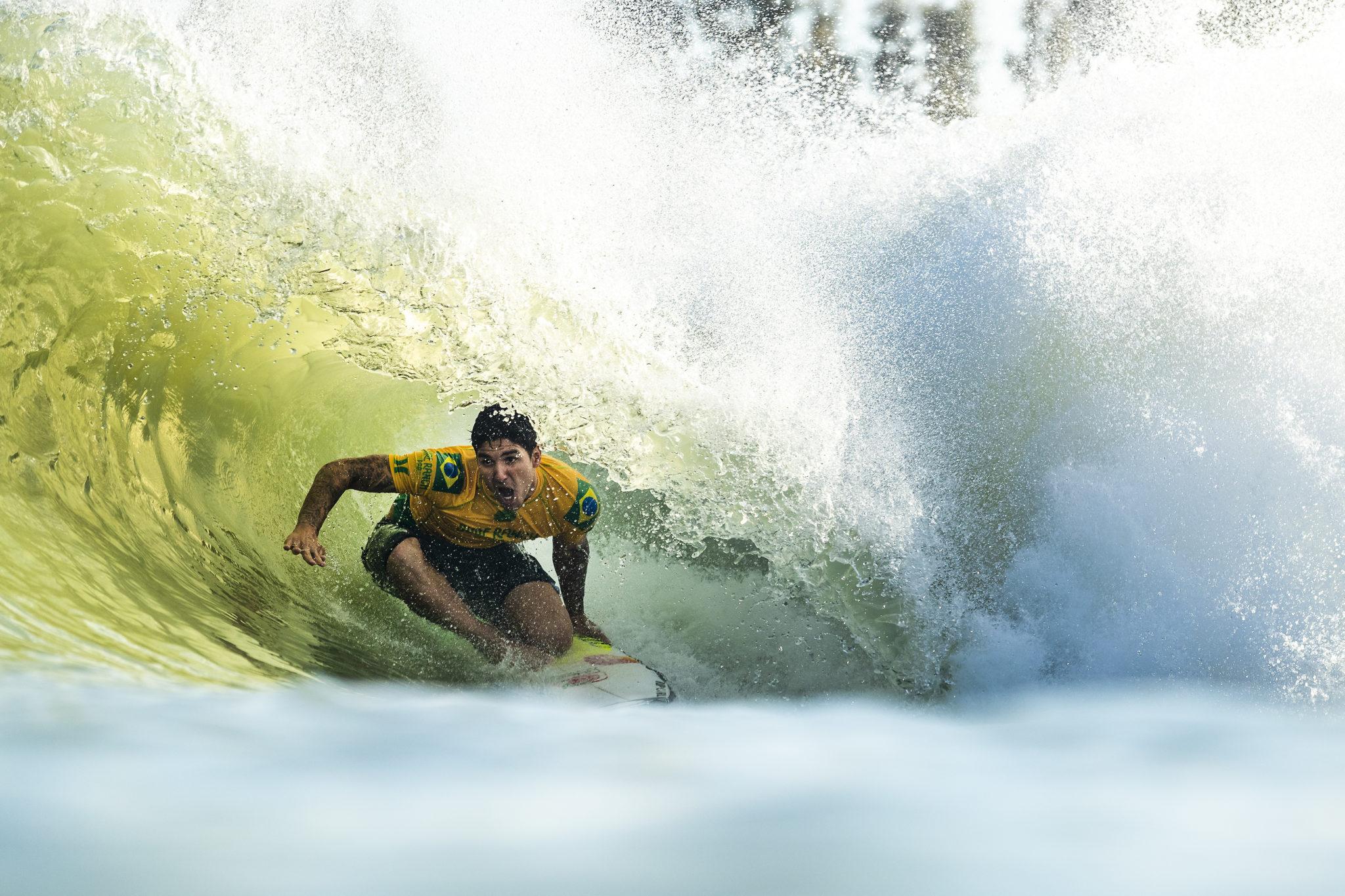 Gabriel Medina/ Foto: WSL/Kelly Cestari)