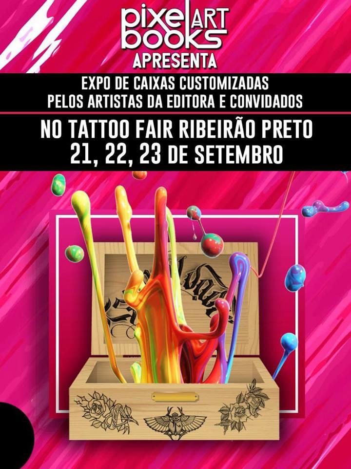 Mondo Pixel no Tattoo Fair Ribeirão Preto