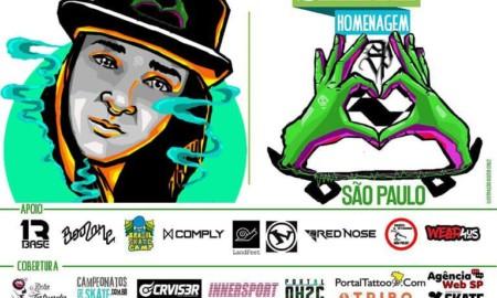Skate Homenagem São Paulo apresenta Angélica Lopes