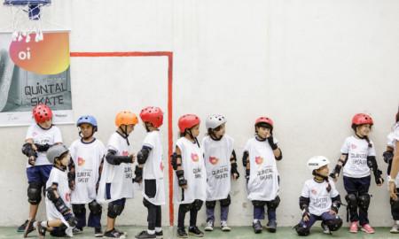 O projeto social Quintal Skate