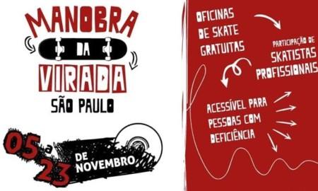 São Paulo Capital recebe o Projeto Manobra da Virada