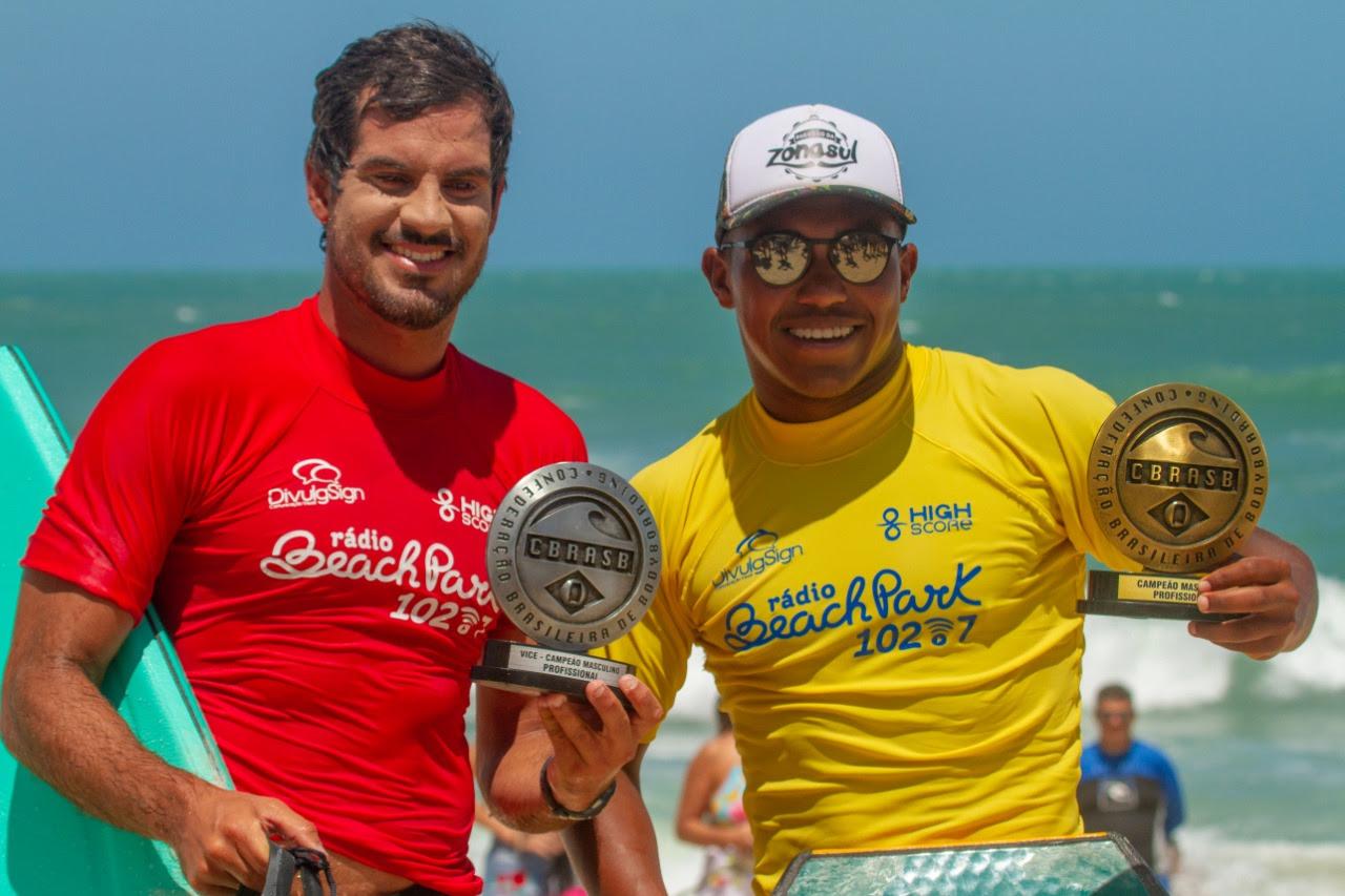 Sócrates e Maira conquistam o Brasileiro de Bodyboarding