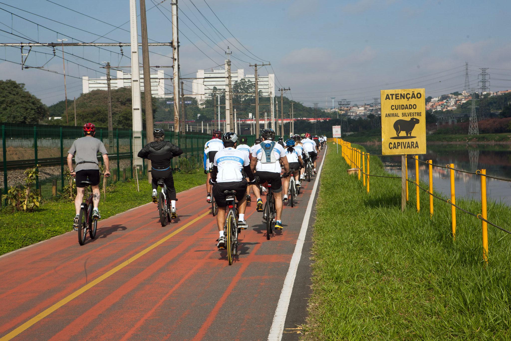 Pedal das Capivaras: Despoluição do Rio Pinheiros