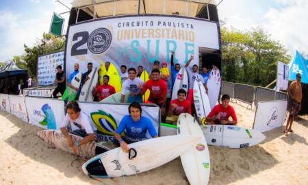 Circuito Paulista Universitário de Surf tem final em Maresias