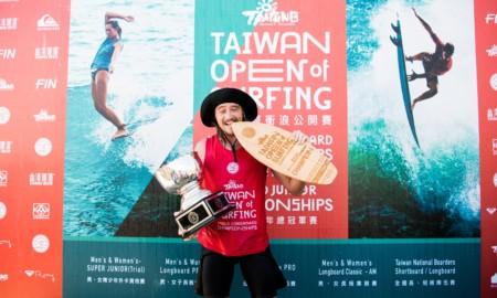 Sul-africano ganha o título mundial de Longboard