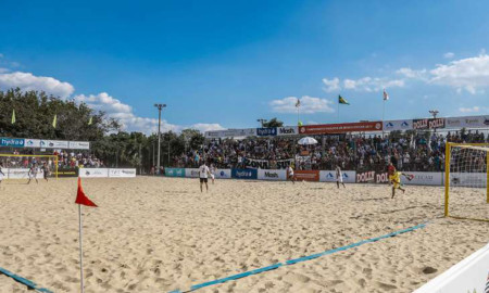 Campeonato Paulista de Beach Soccer em Guarujá