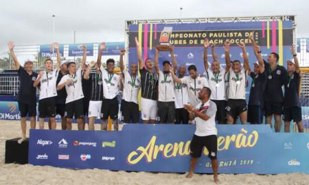 Corinthians é bicampeão paulista de beach soccer