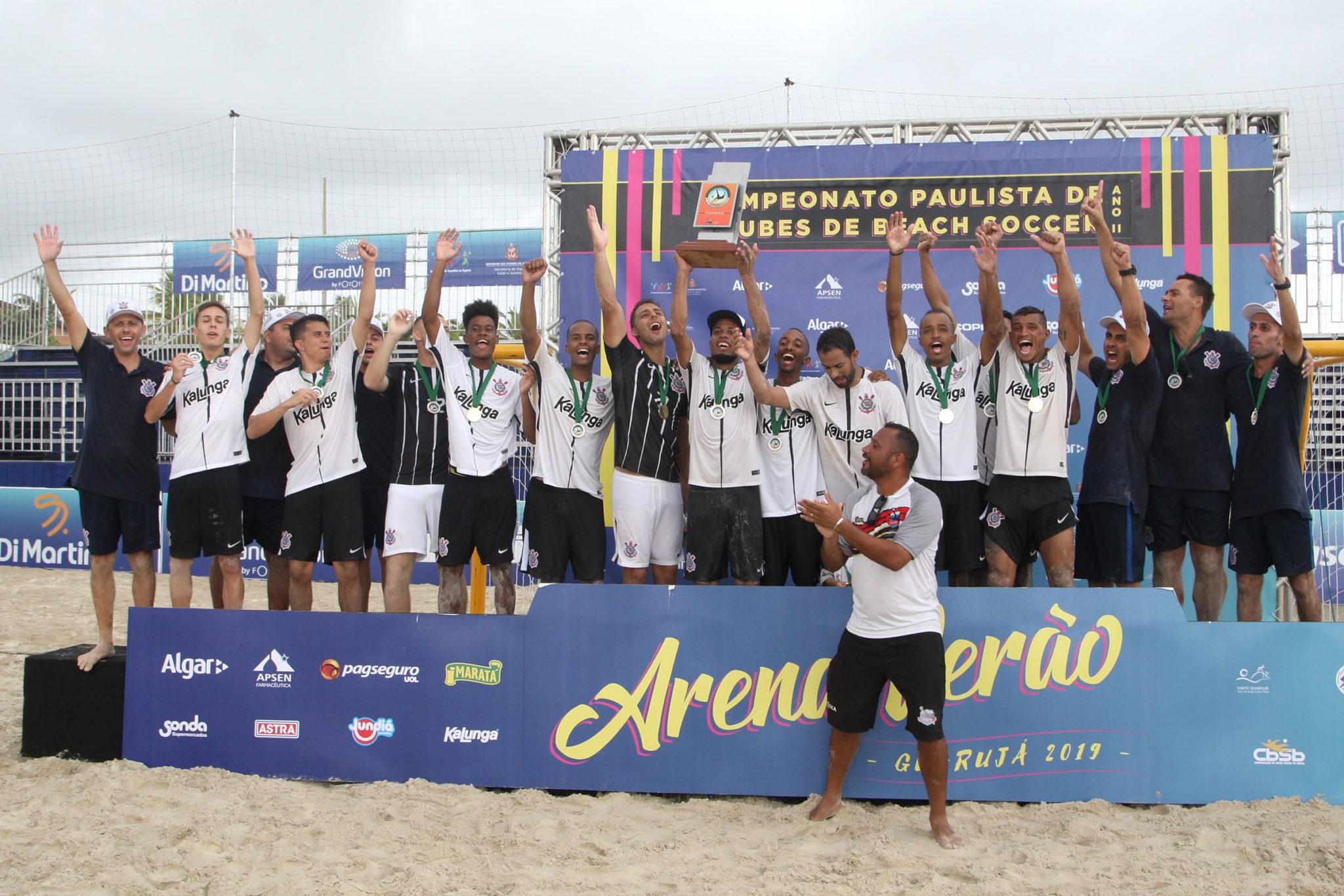 Elenco do Corinthians/ Foto: Luiz Doro / Adorofoto