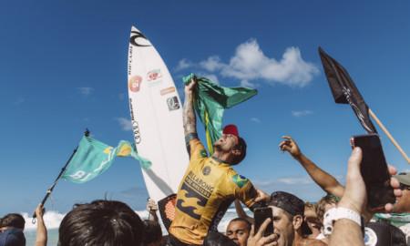 Gabriel Medina é atração em Santa Catarina