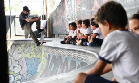 Novas atividades no Quintal Skate