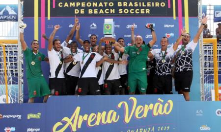 Vasco é o campeão do Brasileiro de Beach Soccer 2019, em Guarujá