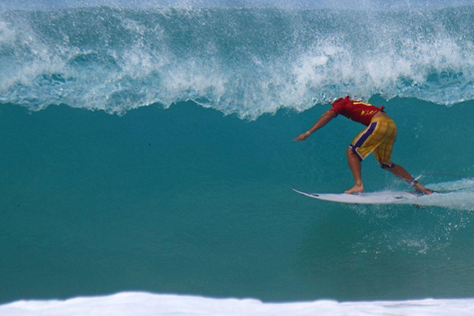 Alejo no último Hang Loose Pro / Foto Daniel Smorigo